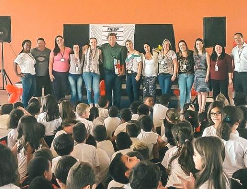 Escola do SESI de Boituva presta homenagem a Paulo Guerini